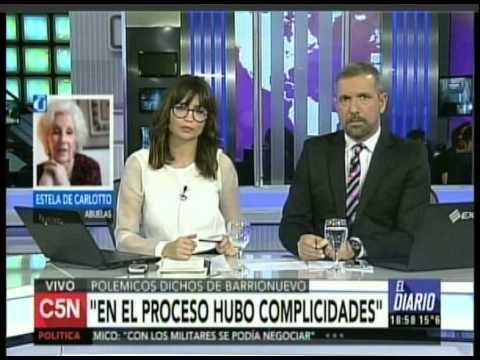C5N - PARO Y PIQUETES: ENTREVISTA A ESTELA DE CARLOTTO