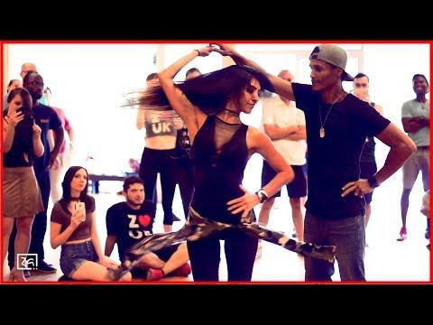 French Montana - Unforgettable ft. Swae Lee - Lambada Dance - Leo Bruno & Romina Hidalgo - [ZA]