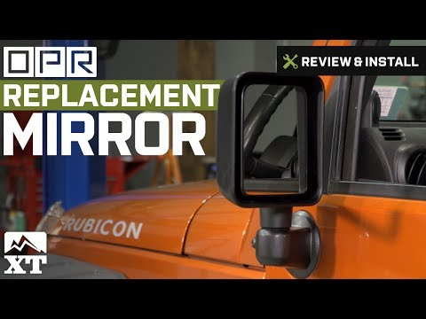 Jeep Wrangler Replacement Mirror (2007-2016 JK) Review & Install