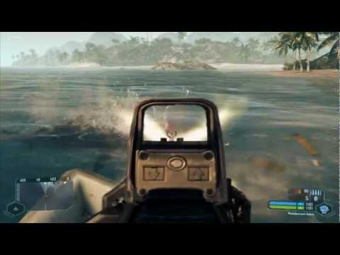 Охота на акул в Crysis Часть 1 /Part 1