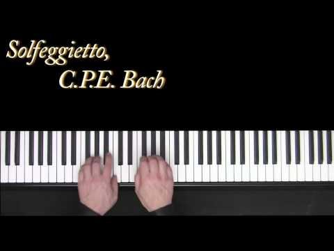 Carl Philipp Emanuel Bach - Solfeggio Solfeggietto In Cm