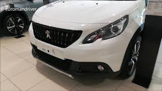 New Peugeot 2008 GT Line - 2019 Walk-Around Review euromandriver compact suv crossover