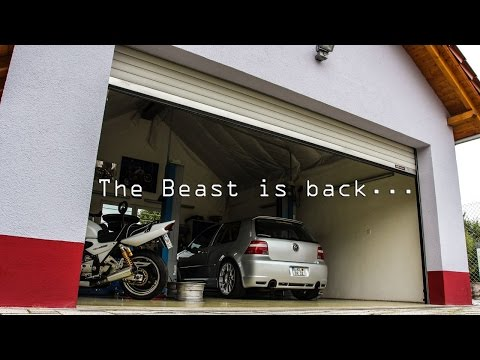The BEAST is back! VW Golf Mk4 R32 Turbo (673 hp / 702 lb ft)