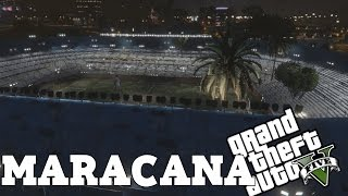 MARACANÃ V - ESTADIO NO GTA V