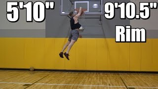 """Max Jumps a lil off but HIGH - #278 5'10"""" Dunk Journey 2.0"""