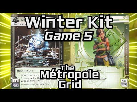Netrunner Winter Kit 2016: Game 5