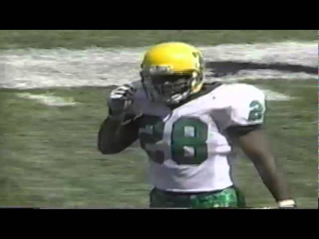 Oregon RB Saladin McCullough 19 yard run vs. Nevada 9-13-1997
