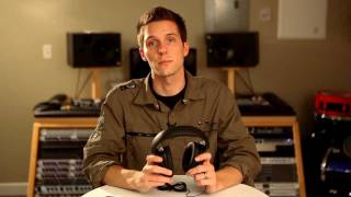 How to change the ear cushions on Sennheiser HD 400 series versatile headphones
