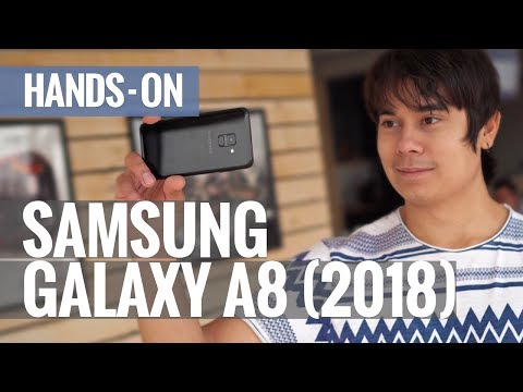 Samsung Galaxy A8 (2018): hands-on review