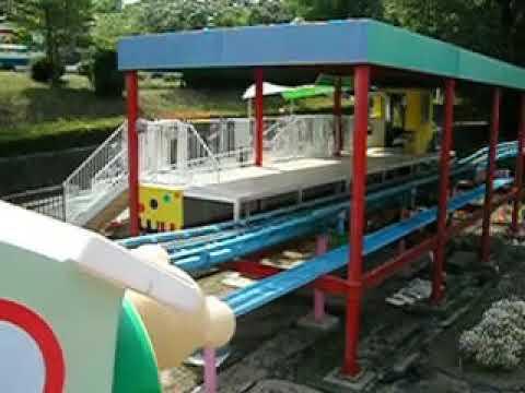 東山動植物園の遊園地、くまさんコースター