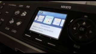 Canon Pixma MX870 Unboxing