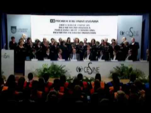 Graduación de la XIII Promoción Centro Universitario CESINE