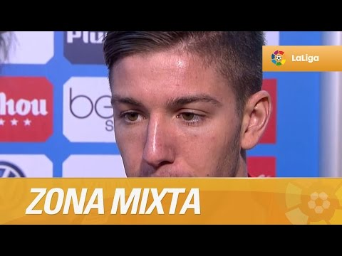 Zona Mixta tras el Atlético de Madrid (3-0) Real Sociedad