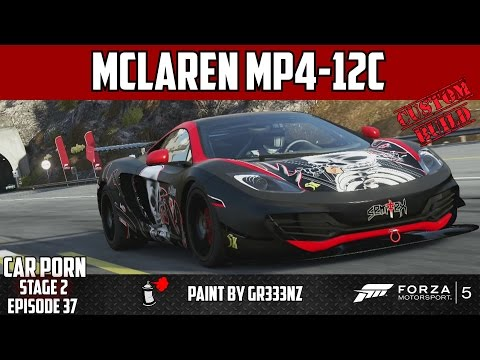 Forza 5 - Custom Mclaren Mp4-12c - Car Porn Stage 2 Ep37 video