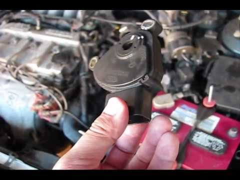 Mazda 626 Transmission Range Sensor aka Neutral Safety Switch Location