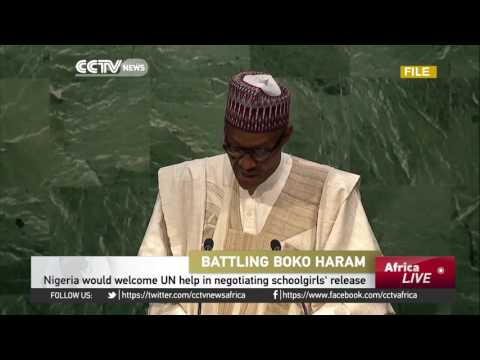 President Buhari calls on U.N. help in negotiating chibok girls release