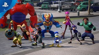 KINGDOM HEARTS III – TGS Big Hero 6 Trailer | PS4