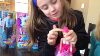 Barbie Princess Power Super Hero Doll Demo
