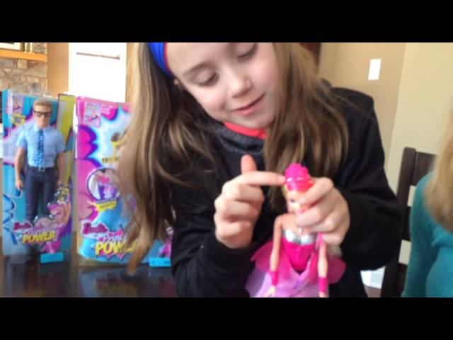 Barbie Princess Power Super Hero Doll Demo