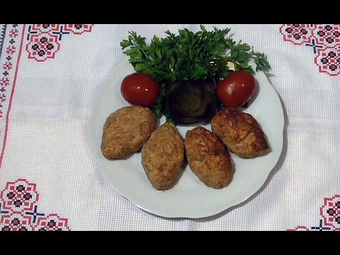 КОТЛЕТЫ  Диетическое  блюдо, приготовление и его рецепт с расчётом калорийности.