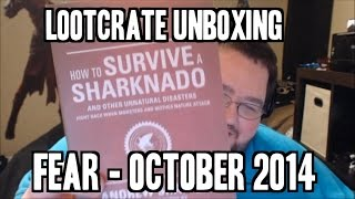 Loot Crate Unboxing! FEAR! October 2014