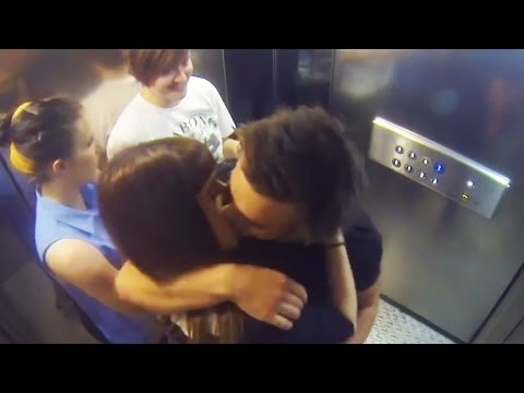 Kissing Prank - Elevators Pranks On Sexy Girls - Pranks On People - Funny Videos - Best Pranks 2015 video