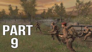 Call of Duty 2 Gameplay Walkthrough Part 9 - British Campaign - Battle for Caen 1/2