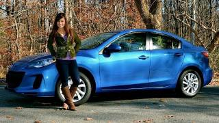 RoadflyTV - 2012 Mazda3 Skyactiv Test Drive with Shannon McIntosh