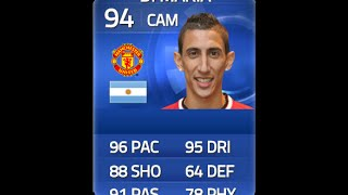 FIFA 15 TOTY DI MARIA 94 Player Review & In Game Stats Ultimate Team