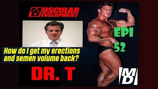 HOW DO I GET MY ERECTIONS & SEMEN BACK? |ASK DR  TESTOSTERONE   EPISODE 52