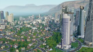 Sim city 5 #21 -  Big city with 420k peolple without any traffic jam _ is that possible?