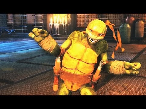 Teenage Mutant Ninja Turtles: Out of the Shadows - Michelangelo-Trailer (Gameplay)