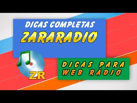 Tutorial Web Radio - Aula 3 - Zararadio - Dicas Completas