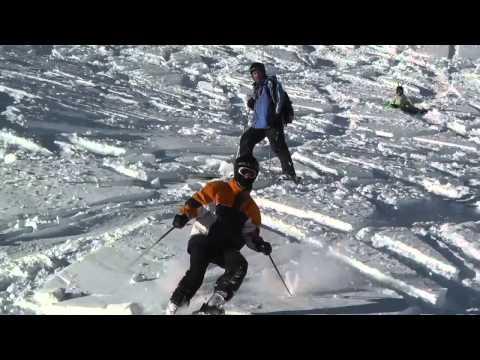 Горные лыжи - это весело!