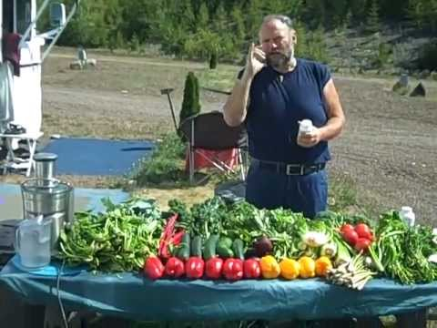 Raw Food Weight Loss 178 pounds! Dave the Raw Food Trucker VIDEO #9