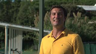 David LaHuta visits the Bermuda Golf Academy