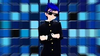 [MMD x Yandere Simulator] - I'm Blue [+Subtitles]