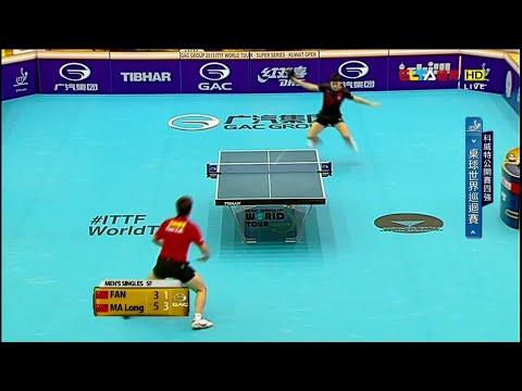 2015 Kuwait Open Ms-SF2: MA Long - FAN Zhendong [HD] [Full Match/Chinese]
