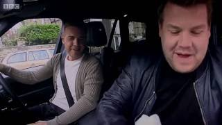 James Corden carpool karaoke w/ Take That