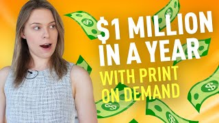 How to Make $1 Million in a YEAR from Print on Demand (Examples of Winning Products) w/ Michael Shih