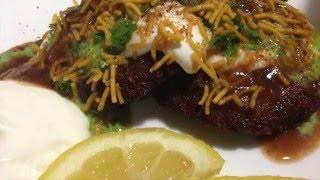The Best Aloo Tikki Chaat *Ramadan Recipes* Nazkitchenfun