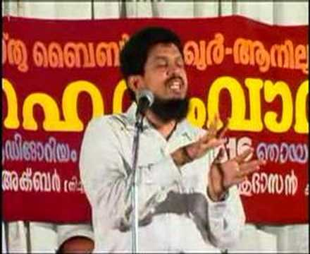 Malayalam Speech ....christian & Muslim ,part2 video