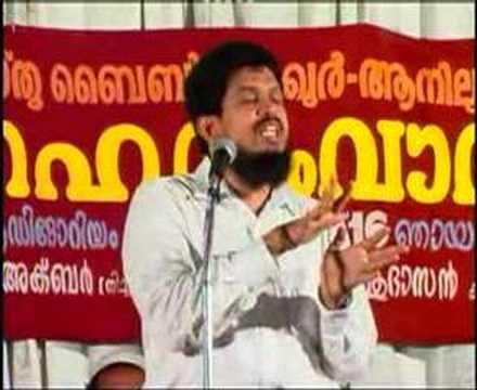 Malayalam Speech ....christian & Muslim ,part2 video