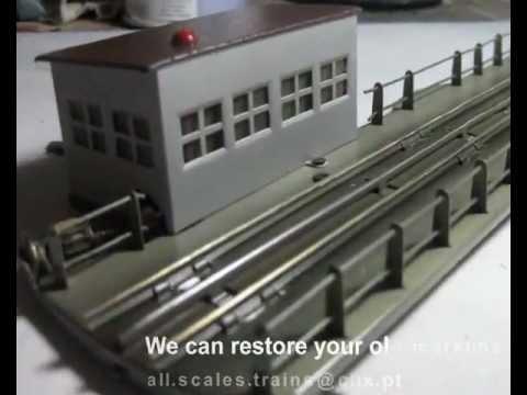 Marklin vintage Turntable Restore