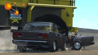 BeamNG.Drive Mod : VAZ-2107 Lada (Crash test)