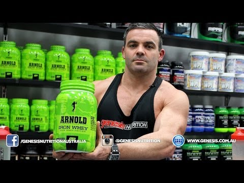 Arnold Iron Whey Review Genesis.com.au - Genesis Nutrition Australia