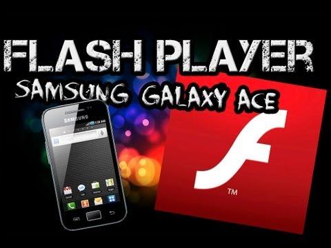 Instalar Flash player en Samsung Galaxy ace GT-S5830 M,i,C