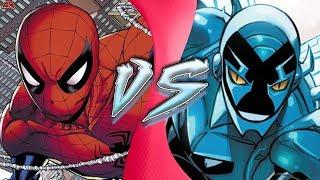 Spider-Man VS Blue Beetle (Marvel vs DC Comics) | Cartoon Fight Club Episode 277