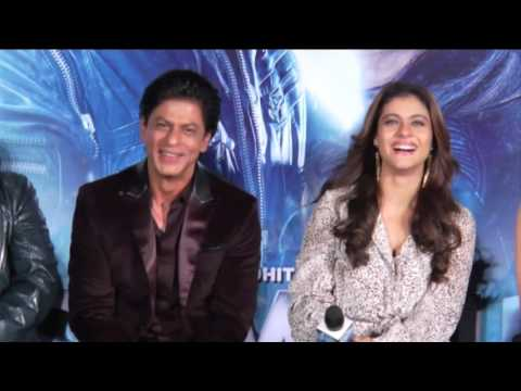 Dilwale GERUA Song Launch - Shahrukh Khan & Kajol Full Uncut Event
