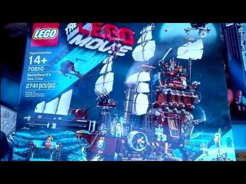 The LEGO Movie 70810 Metalbeard's Sea Clow - First Image!